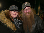 Tami and Bill during the 2019 opening day game between the Reno Aces and the Albuquerque Isotopes at Greater Nevada Field in Reno, Nevada on Tuesday, April 9, 2019.