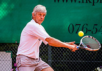 Etten-Leur, The Netherlands, August 26, 2017,  TC Etten, NVK, Hans Adama Van Scheltema (NED)<br /> Photo: Tennisimages/Henk Koster