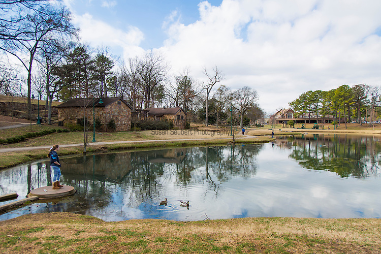 The Avondale Park, formerly a zoo, in the Avondale neighborhood, Birmingham, Alabama