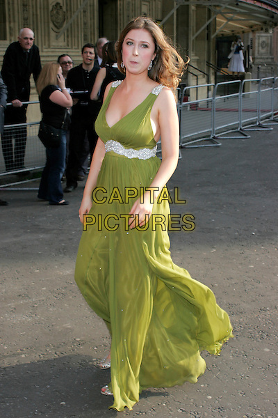 HAYLEY WESTENRA.Arrivals for the Classical Brit Awards 2008 held at the Royal Albert Hall, London, England, UK..May 8th, 2008.full length green dress westerna .CAP/AH.©Adam Houghton/Capital Pictures.