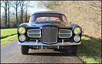 BNPS.co.uk (01202 558833)<br /> Pic: Coys/BNPS<br /> <br /> A rare and exclusive luxury car first owned by famous Hollywood actress Ava Gardner has emerged for sale for £160,000.<br /> <br /> Named after the then brightest star in the heavens, the French Facel 'Vega' Excellence was bought new by Gardner in 1958, at the height of her fame and shortly after divorcing legendary crooner Frank Sinatra.<br /> <br /> Exorbitantly expensive for the time, only 156 of the 140mph Chrysler V8 powered cars were ever built before the Paris based company went out of business in 1964.<br /> <br /> Coys of Kensington are auctioning the rare survivor from Hollywood's golden age on 12th January.