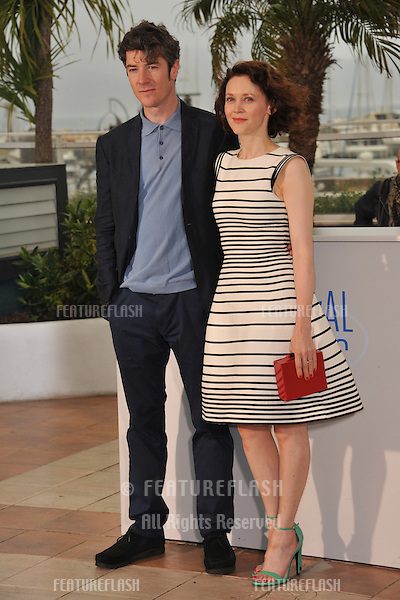 Simone Kirby &amp; Barry Ward at the photocall for their movie &quot;Jimmy's Hall&quot; at the 67th Festival de Cannes.<br /> May 22, 2014  Cannes, France<br /> Picture: Paul Smith / Featureflash