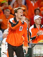 7-4-07, England, Birmingham, Tennis, Daviscup England-Netherlands, Captain Jan Siemerink