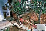Moradores da favela da Rocinha. Rio de Janeiro. 1988. Foto de Juca Martins.
