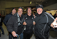 Fans at the 2017 DHL Lions Series rugby union 3rd test match between the NZ All Blacks and British & Irish Lions at Eden Park in Auckland, New Zealand on Saturday, 8 July 2017. Photo: Dave Lintott / lintottphoto.co.nz