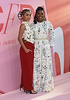 03 June 2019 - New York, New York - Yara Shahidi and Keri Shahidi. 2019 CFDA Awards held at the Brooklyn Museum. <br /> CAP/ADM/LJ<br /> ©LJ/ADM/Capital Pictures