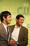 Michael Rady and Thomas Calabro - Melrose Place -  at the CW Upfront 2009 on May 21, 2009 at Madison Square Gardens, New York NY. (Photo by Sue Coflin/Max Photos)