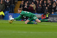 David Martin of West Ham United makes a save during Chelsea vs West Ham United, Premier League Football at Stamford Bridge on 30th November 2019