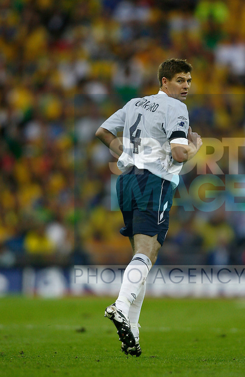 England's Steven Gerrard..International Friendly..England v Brazil..1st June, 2007..--------------------..Sportimage +44 7980659747..admin@sportimage.co.uk..http://www.sportimage.co.uk/