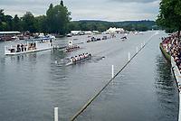 Henley Royal Regatta, Henley on Thames, Oxfordshire, 28 June - 2 July 2017.  Thursday  18:07:06   29/06/2017  [Mandatory Credit/Intersport Images]<br /> <br /> Rowing, Henley Reach, Henley Royal Regatta.<br /> <br /> The Princess Elizabeth Challenge Cup<br />  Gonzaga College High School, U.S.A. v  Winchester College
