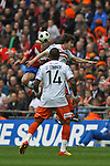 LONDON, ENGLAND - MAY 20: 2011-12 Blue Square Bet Conference League promotion final between Luton Town FC and York City FC at Wembley Stadium on May 20, 2012 in London, England. (Photo by Dave Horn - Extreme Aperture Photography)