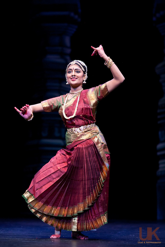 Suchitra during her Arangetram performance at the Eisemann Center, July 10th, 2010