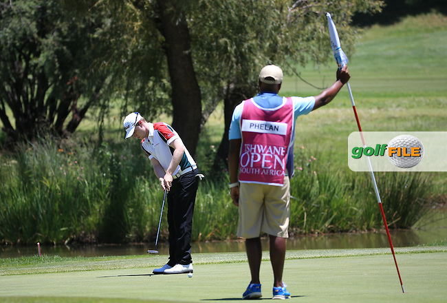 A brilliant -4 front nine was foiled by the back nine; Kevin Phelan (IRL) during Round Two of the 2016 Tshwane Open, played at the Pretoria Country Club, Waterkloof, Pretoria, South Africa.  12/02/2016. Picture: Golffile | David Lloyd<br /> <br /> All photos usage must carry mandatory copyright credit (&copy; Golffile | David Lloyd)