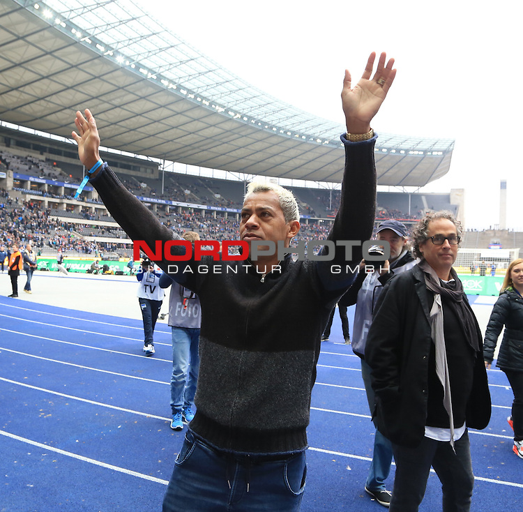 22.10.2016, OLympiastadion, Berlin, GER, 1.FBL, Hertha BSC VS. 1.FC Koeln, im Bild <br /> Marcelinho<br /> <br /> <br />       <br /> Foto &copy; nordphoto / Engler