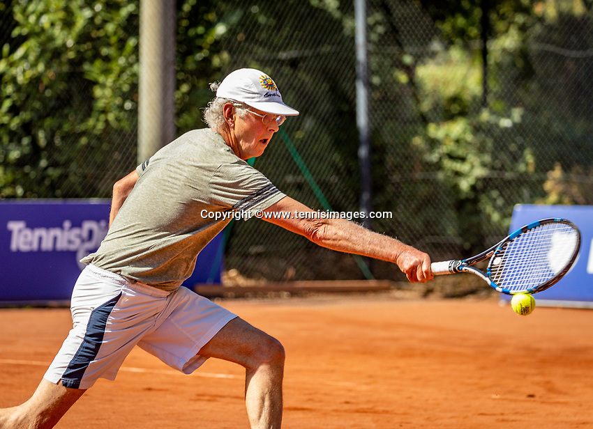 Hilversum, The Netherlands,  August 23, 2019,  Tulip Tennis Center, NSK, Wijnand van Leeuwen (NED)<br /> Photo: Tennisimages/Henk Koster