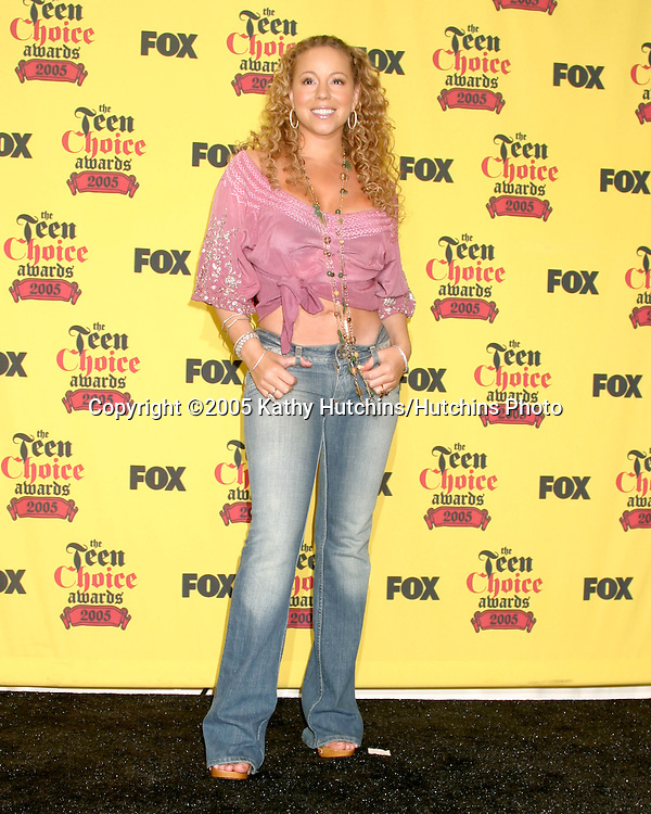Mariah Carey.Teen Choice Awards.Gibson Ampitheather.Universal City, CA.August  14, 2005.©2005 Kathy Hutchins / Hutchins Photo