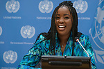 Joint Press Briefing with the United Nations Office on Drugs and Crime (UNODC), United Nations Human Settlements Programme (UN-Habitat) and United Nations Educational, Scientific and Cultural Organization (UNESCO) entitled 'The Future of African Youth- Towards the Africa we want by 2030'<br /> <br /> Speakers:<br /> <br /> Ms. Wambui Kahara, UCLG Africa, Youth Champion