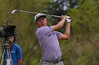 David Lipsky (USA) watches his tee shot on 18 during round 4 of the World Golf Championships, Mexico, Club De Golf Chapultepec, Mexico City, Mexico. 2/24/2019.<br /> Picture: Golffile | Ken Murray<br /> <br /> <br /> All photo usage must carry mandatory copyright credit (© Golffile | Ken Murray)