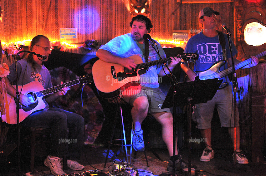 RG & Friends Performing at Otto's Shrunken Head. August 26, 2010 Lower East Side, New York NY