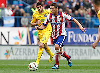 Atletico Madrid´s Spanish midfielder Koke