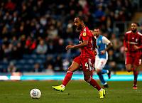 8th February 2020; Ewood Park, Blackburn, Lancashire, England; English Football League Championship Football, Denis Odoi of Fulham plays the ball into attack