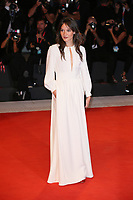 VENICE, ITALY - SEPTEMBER 05: Anais Demoustier walks the red carpet ahead of the Gloria Mundi screening during the 76th Venice Film Festival at Sala Grande on September 05, 2019 in Venice, Italy. (Photo by Mark Cape/Insidefoto)<br /> Venezia 05/09/2019