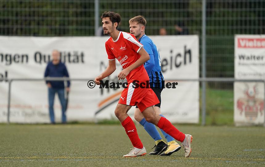 Christoph Haddad (Büttelborn) - Büttelborn 03.10.2019: SKV Büttelborn vs. FSG Riedrode, Gruppenliga Darmstadt