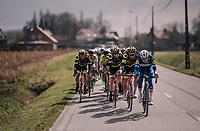 catching the breakaway group...<br /> <br /> Driedaagse Brugge-De Panne 2018<br /> Bruges - De Panne (202km)