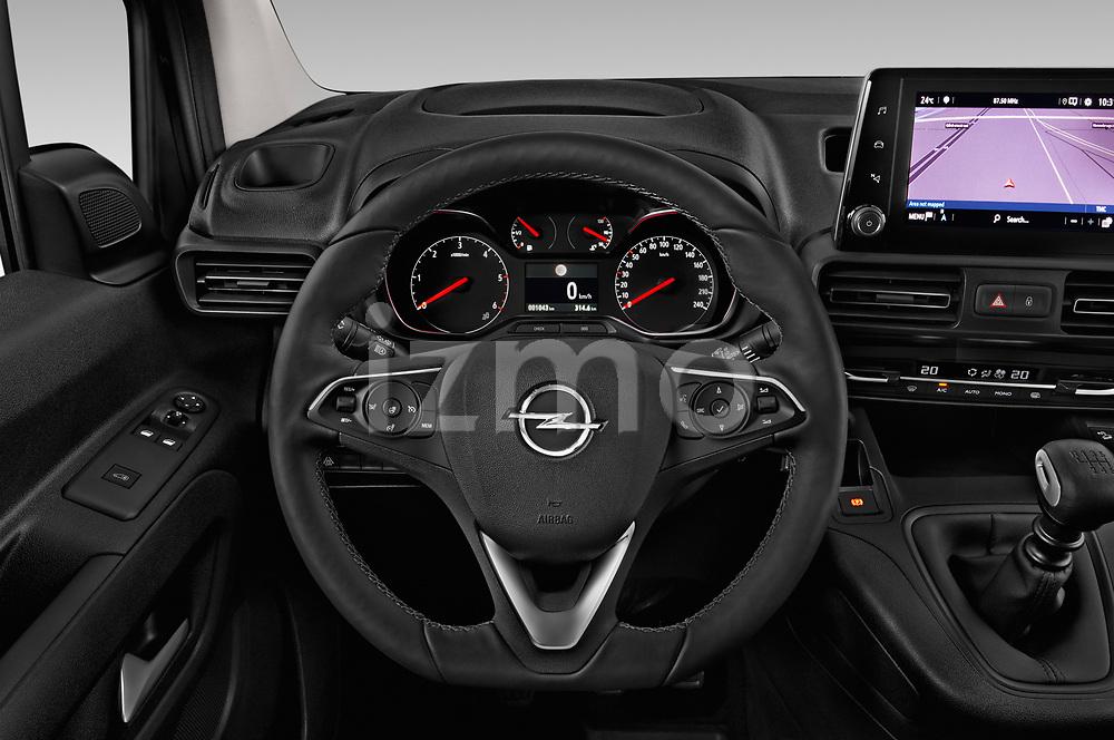 Car pictures of steering wheel view of a 2019 Opel Combo Dynamic 4 Door Car van
