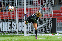 Bridgeview, IL - Saturday July 22, 2017: Aubrey Bledsoe during a regular season National Women's Soccer League (NWSL) match between the Chicago Red Stars and the Orlando Pride at Toyota Park. The Red Stars won 2-1.