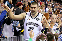 Ivan Zigeranovic saluta publicul la finalul meciului