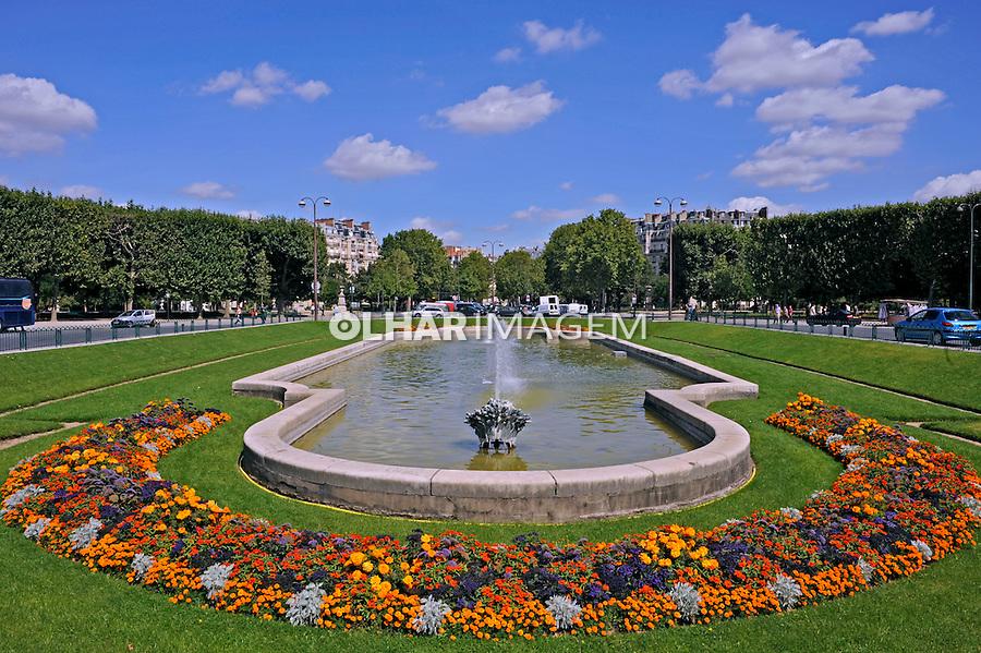 Jardim em Paris. França. 2008. Foto de Ricardo Azoury.