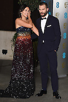 Amelia Warner &amp; Jamie Dornan at the 2017 EE British Academy Film Awards (BAFTA) After-Party held at the Grosvenor House Hotel, London, UK. <br /> 12 February  2017<br /> Picture: Steve Vas/Featureflash/SilverHub 0208 004 5359 sales@silverhubmedia.com