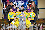 DANCE COMPETITION: Joanne Barry's Dance To Destiny group who competed in the Spectrum Dance Competition at Brandon hotel, Tralee on Saturday front l-r: Chloe Looney, Cody Barry and Ava Kelliher. Centre l-r: Katie Horgan, Brid O'Connor, Ava Looney and Abbi O'Mahoney. Back l-r: Joanne Barry, Chanice Fitzpatrick, Amy Coffey, Crystal Doran and Jackie Hayden..