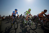 stage 9 winner Daniel Martin (IRL) sitting it out in the peloton today<br /> <br /> stage 10: Saint-Gildas-des-Bois to Saint-Malo<br /> 197km