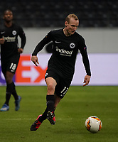 Sebastian Rode (Eintracht Frankfurt) - 12.03.2020: Eintracht Frankfurt vs. FC Basel, UEFA Europa League, Achtelfinale, Commerzbank Arena<br /> DISCLAIMER: DFL regulations prohibit any use of photographs as image sequences and/or quasi-video.
