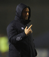 Cardiff Blues&rsquo; Head Coach Danny Wilson<br /> <br /> Photographer Kevin Barnes/CameraSport<br /> <br /> Guinness Pro14  Round 14 - Cardiff Blues v Toyota Cheetahs - Saturday 10th February 2018 - Cardiff Arms Park - Cardiff<br /> <br /> World Copyright &copy; 2018 CameraSport. All rights reserved. 43 Linden Ave. Countesthorpe. Leicester. England. LE8 5PG - Tel: +44 (0) 116 277 4147 - admin@camerasport.com - www.camerasport.com
