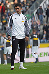 04.11.2018, Borussia Park , Moenchengladbach, GER, 1. FBL,  Borussia Moenchengladbach vs. Fortuna Duesseldorf,<br />  <br /> DFL regulations prohibit any use of photographs as image sequences and/or quasi-video<br /> <br /> im Bild / picture shows: <br /> Lars Stindl (Gladbach #13), beim Aufwaermen, Einzelaktion,  <br /> <br /> Foto &copy; nordphoto / Meuter