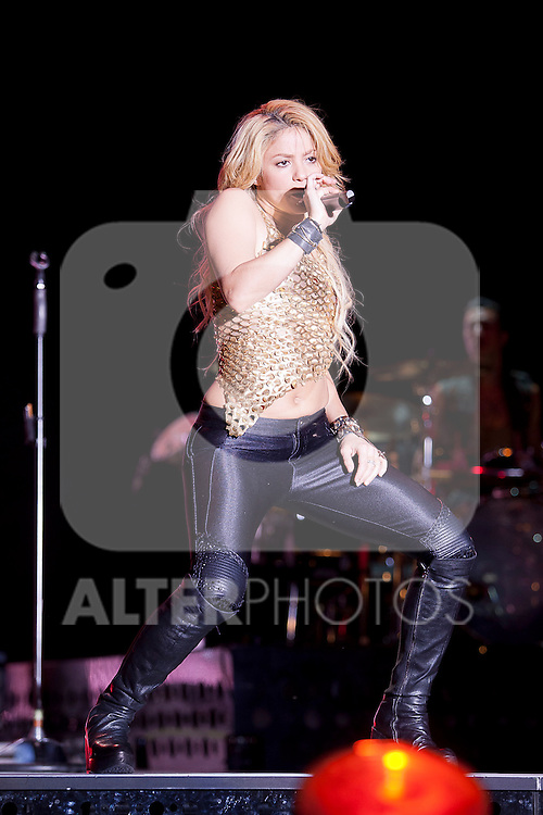10.06.2011, Schwarzl See Unterpremstätten bei Graz, AUT, Seerock Festival, im Bild der kolumbianische Superstar Shakira, EXPA Pictures © 2011, PhotoCredit: EXPA/ Erwin Scheriau