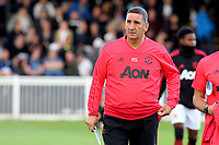 Manchester United U23's Manager, Ricky Sbragia during Fulham Under-23 vs Manchester United Under-23, Premier League 2 Football at Motspur Park on 10th August 2018