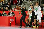 13.01.2018., Croatia, Arena Zagreb, Zagreb - European Handball Championship, Group C, Round 1, Germany - Montenegro. Prokop Christian<br /> <br /> Foto &copy; nordphoto / Dalibor Urukalovic/PIXSELL