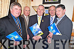 GAA President Christy Cooney pictured with Sean O'Sullivan, Fintan Lawlor, Michael Gleeson and Ger Galvin at the launch of the Spa GAA five year plan in Darby O'Gills, Killarney  on Friday night.