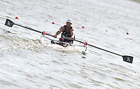 Poznan, POLAND,  NZL ASM1X Antony TINGA, competing in the heats of the men's AS Single Sculls, on the Second day of the, 2009 FISA World Rowing Championships. held on the Malta Rowing lake, Monday  24/08/2009 [Mandatory Credit. Peter Spurrier/Intersport Images]