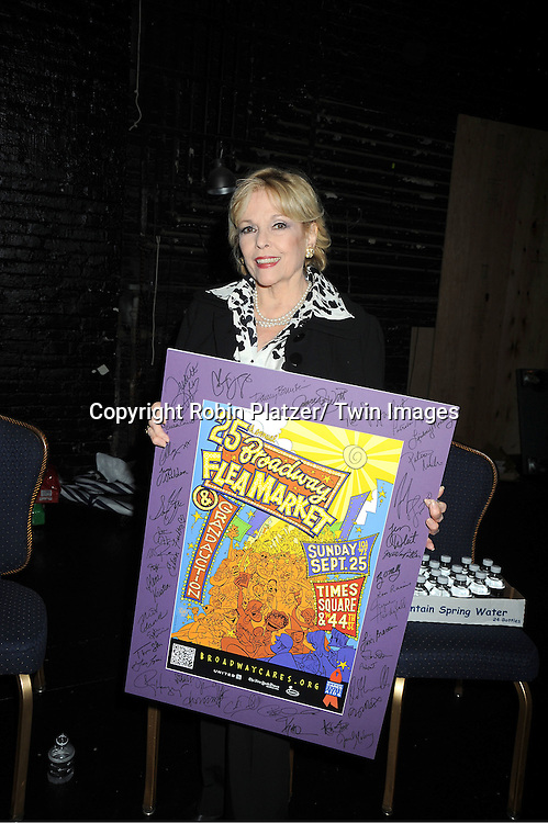 Eileen Fulton attends the 25th Annual Broadway Flea Market and Grand Auction benefiting Broadway Cares/ Equity Fights Aids on September 25, 2011 at Shubert Alley.