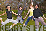 The Kerry Youth Dance Theatre are preparing for their new show at Siamsa Tire next month. The group which are only in existence for the past 12 months are already moving towards becoming a professional group in Kerry. .L-R Rachael Daly, Adrienne Heaslip, Cliodhna Murphy and Eilise Sullivan