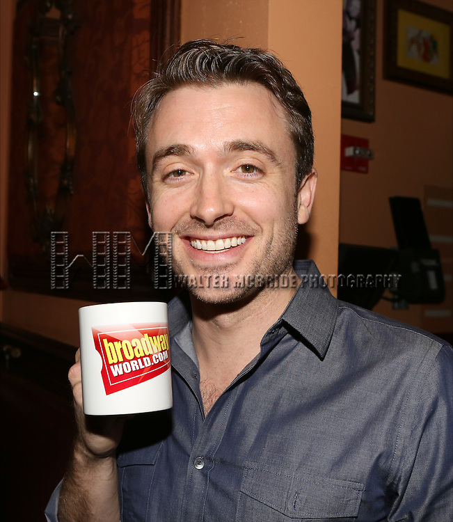 James Snyder during the WAKE UP with BWW photo shoot at 54 Below on December 14, 2014 in New York City.