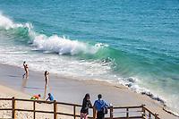 Waves at Treasure Island Beach in Laguna Beach