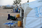 BURKINA FASO Djibo , malische Fluechtlinge, vorwiegend Tuaregs, im Fluechtlingslager Mentao des UN Hilfswerks UNHCR, sie sind vor dem Krieg und islamistischem Terror aus ihrer Heimat in Nordmali geflohen / BURKINA FASO Djibo, malian refugees, mostly Touaregs, in refugee camp Mentao of UNHCR, they fled due to war and islamist terror in Northern Mali  , WEITERE MOTIVE ZU DIESEM THEMA SIND VORHANDEN!! MORE PICTURES ON THIS SUBJECT AVAILABLE!!