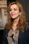 """Siobhan McCarthy attend a press reception for the cast of The Tooting Arts Club production of """"Sweeney Todd''  at AOC L'aile ou la Cuisse on February 2, 2017 in New York City."""