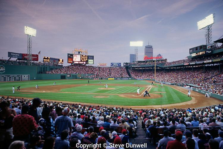 Red Sox at Fenway park, Boston, MA